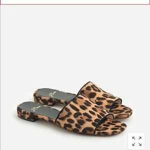NWT J CREW ABBIE SLIDE SANDALS